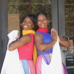 Praise Dance Team - Monique Johnson (right) and Vanice Gutierrez