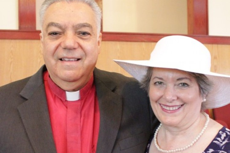 Senior Pastor Rev. Nick Bitakis and Wife, Pat