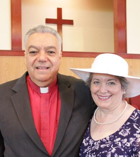 Senior Pastor Rev. Nick Bitakis and Wife, Pat
