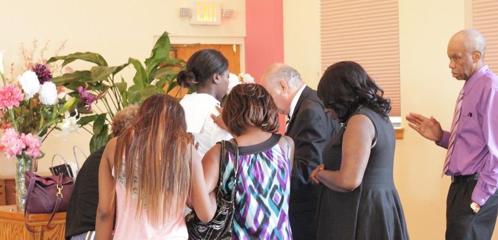 Prayer in the Sanctuary