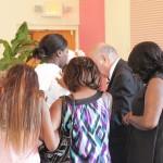 Prayer in the Auditorium
