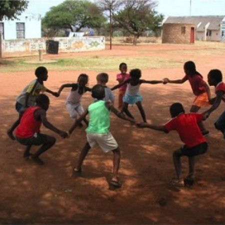 Kids from Engage Africa