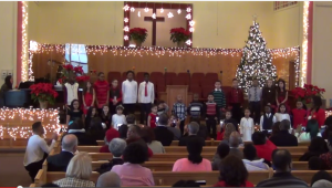 Children's Christmas Performance at New Life